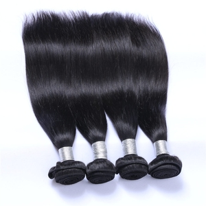 Wholesale price raw indian hair vendor remy brazilian straight hair weave extension bundles human straight hair weft with bangs