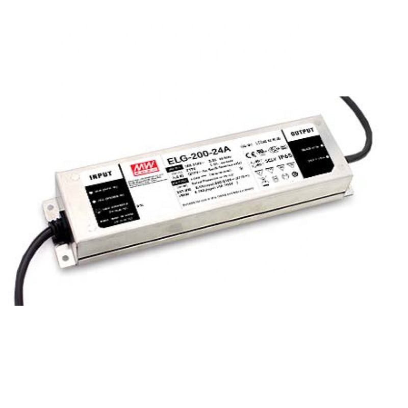 ORIGINELE Mean Well ELG-200-48 200 W 48 V/4.16A IP67 AC-DC PFC Constante Spanning + Constante Stroom LED Driver schakelaar Voeding