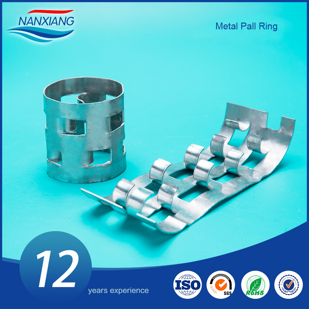 SS304, 321 ,316L Stainless Steel Metal Random Packing Pall Ring