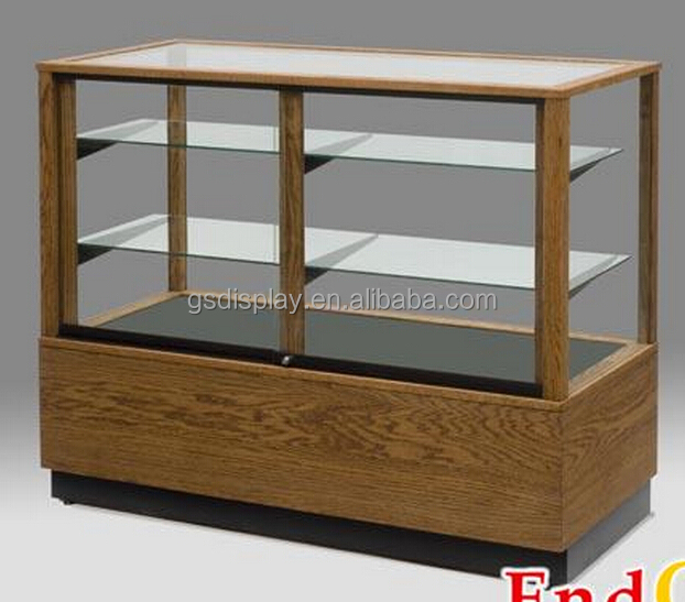 retail glass display cabinet with led lights, View glass display ...