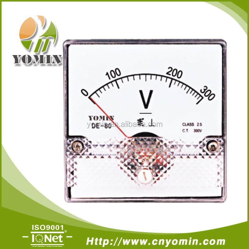 Manufacturer Dc-da50 Direct Input Ac Voltmeter,Analog Panel Meter ...