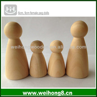 factory direct supplying unfinished wooden craft dolls