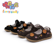 2013 genuine leather child  female  shoes cowhide children leather toddler infant shoes natural skin baby sneakers