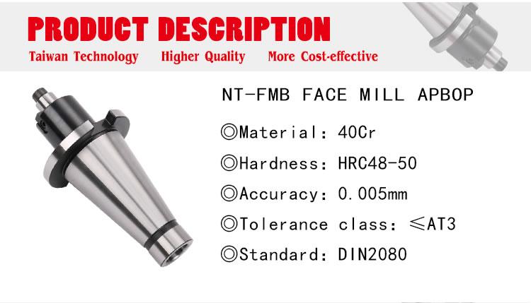 40 INT 27mm Face Mill Shell Mill arbor ISO40 Quality M16 drawbar thread