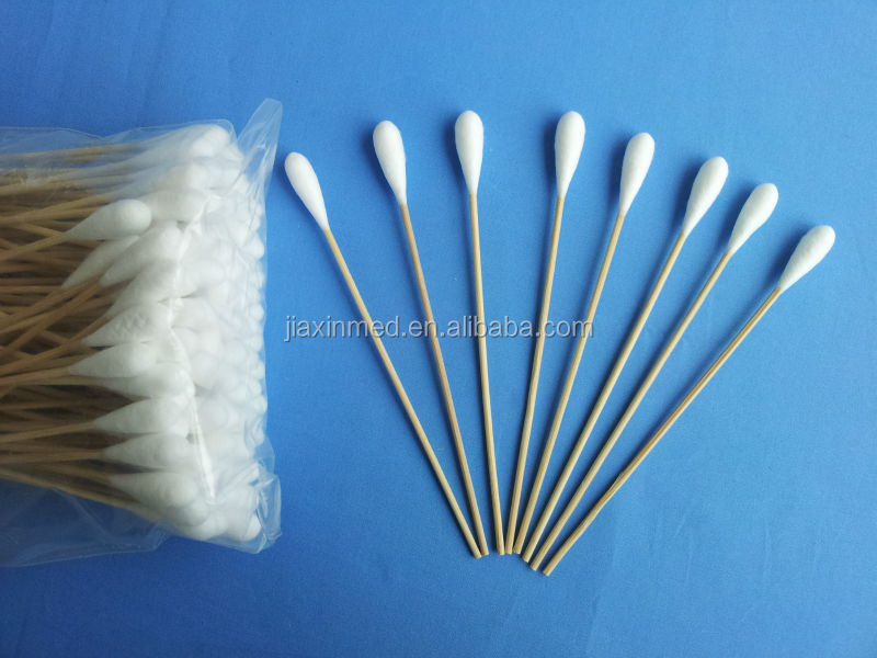 medical bamboo stick cotton swab