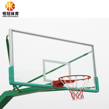 Cheap tempered glass backboard in basketball