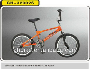 "20""Single Speed Free Style Bike BMX"