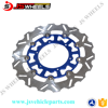 240MM 260MM 270MM OEM Blue Stainless Steel Floating Brake Discs For YZ250/450 Off Road Motorcycle