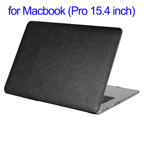 Silk Texture PC Protective Case for Macbook Pro Retina, Hard Shell Case for Apple Macbook Pro 15.4 inch