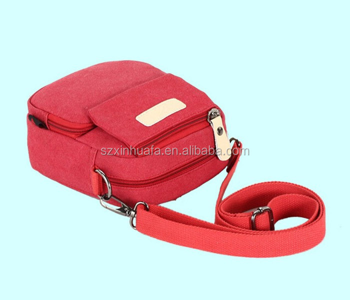 Fashionable Safety Glow Canvas Waist Bag