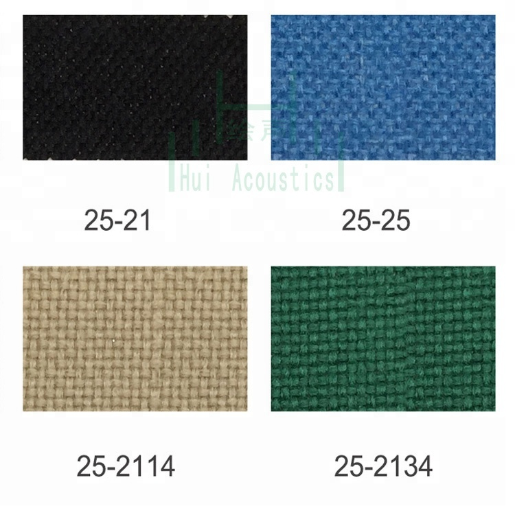 Acoustic Cloth Fabric Panel Fabric Noise Fabric for Panel