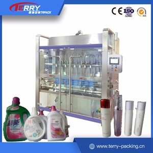 CE ISO 100% Good feedback 500-2000ml semi-automatic gum water filling machine