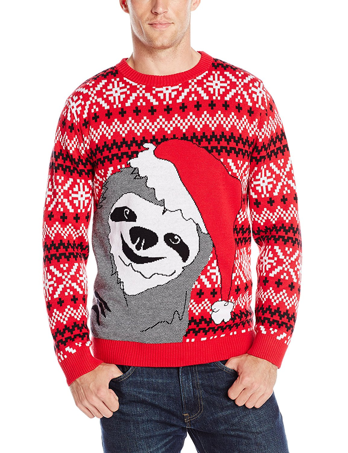 Ugly Christmas Sweater Men.Buy Alex Stevens Mens Sharky Ugly Christmas Sweater In Cheap