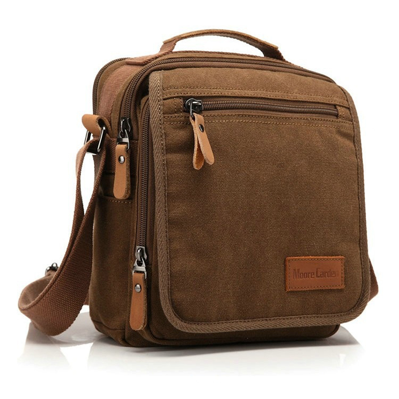 Get Quotations · Vintage Canvas Men Messenger Bag Sport Man Shoulder  Business Tote Bag for Men Crossbody Satchel Men s ed8ed0de88287
