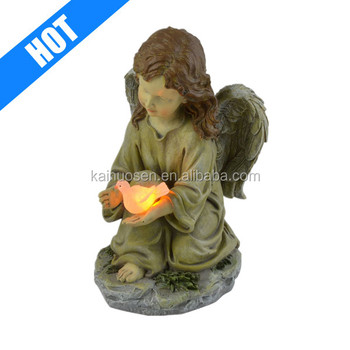 Solar light Garden quanzhou with Glowing Dove Statue LED Light