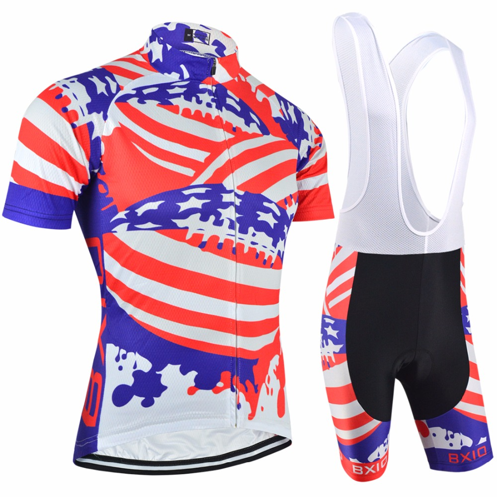 BXIO New Arrival Cycling Sets Clothing Bike Team Anti-Pilling Clothing Set Bicycle Jersey Team Ropa Ciclismo BX-0209F078