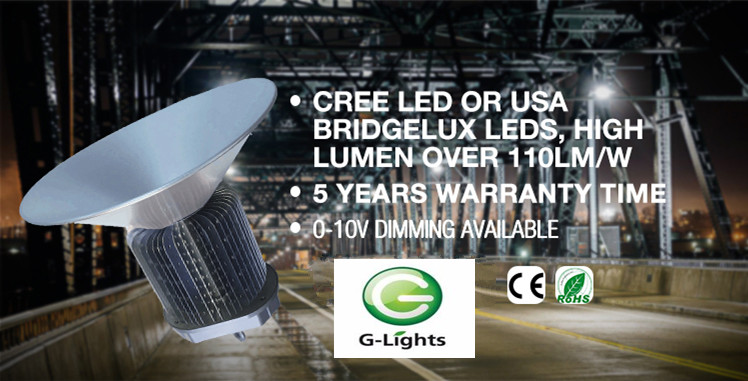 China manufacturer cob 150w led industrial high bay lighting price