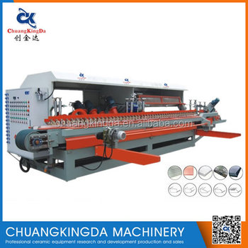 CKD-1200 14H edge rounding machine for ceramic tile,stair tile forming machine,tile edge grinding polishing machine