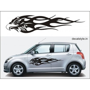 Fly car body sticker picture for suzuki alto car body for Alto car decoration