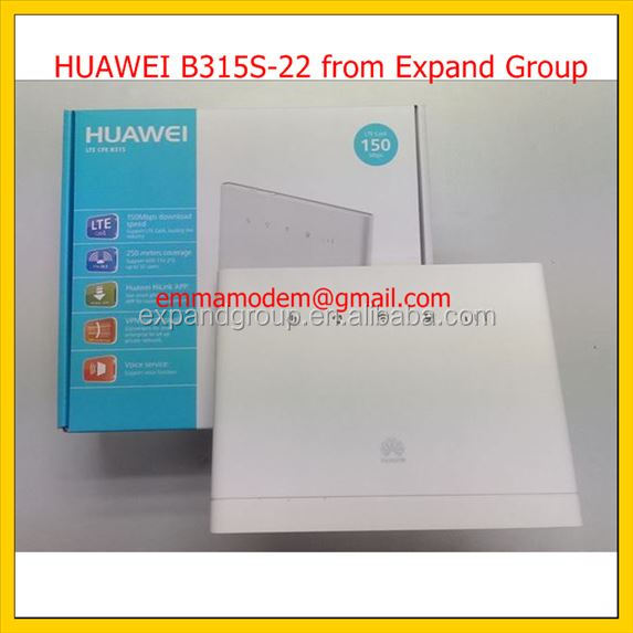 Unlock B315,HUAWEI B315 LTE CPE Router 4G Wireless Router