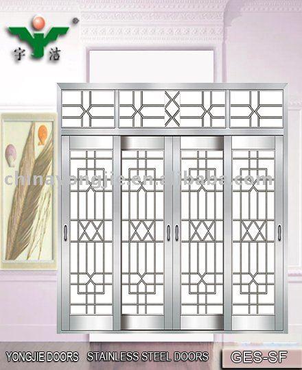 Cheap Stainless Steel Iran Wooden Door