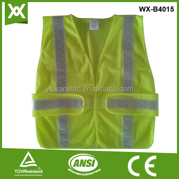 3m reflective safety vest with pocket of soccer & football training vest bibs