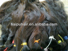 vietnam virgin hair bulk/natural braid