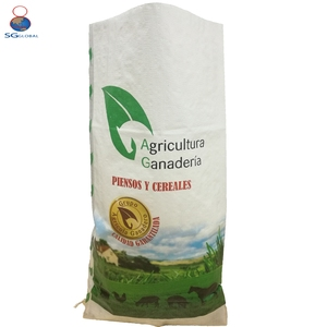 Grain seed packing BOPP waterproof 50kg pp woven sack bag