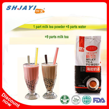 Taiwan Hala Boba Bubble Tea Powder Nutrition Facts Instant Milk Tea Coconut Powder Drink Recipes