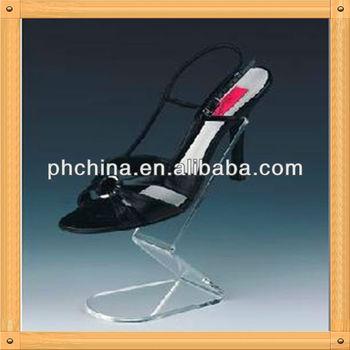 An-b552 Modern Design Factory Sell Glass Shoe Rack Display,Shoe ...