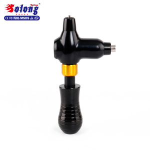 Adjustable Grip flash Newly Aluminium Alloy professional rotary tattoo gun