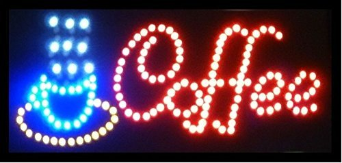 CO-RODE LED Neon light Coffee Sign Display Shop Board Neon Business Light Signs