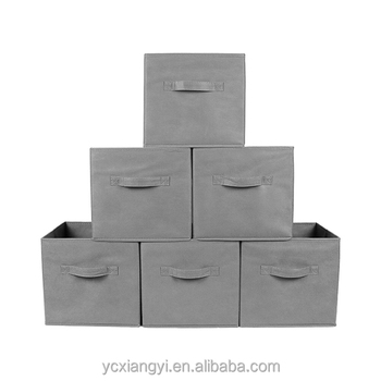 Big lots storage bins/foldable storage cube basket bin/fabric storage bin with grommet  sc 1 st  Wholesale Alibaba : big storage bins  - Aquiesqueretaro.Com