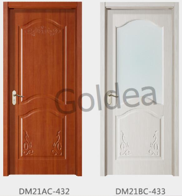 Goldea interior fsc soild wood glass door design & Goldea Interior Fsc Soild Wood Glass Door Design - Buy Interior ... pezcame.com