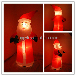 AirBlown inflatable 71 inch tall Santa Claus lighted Christmas outdoor yard decoration