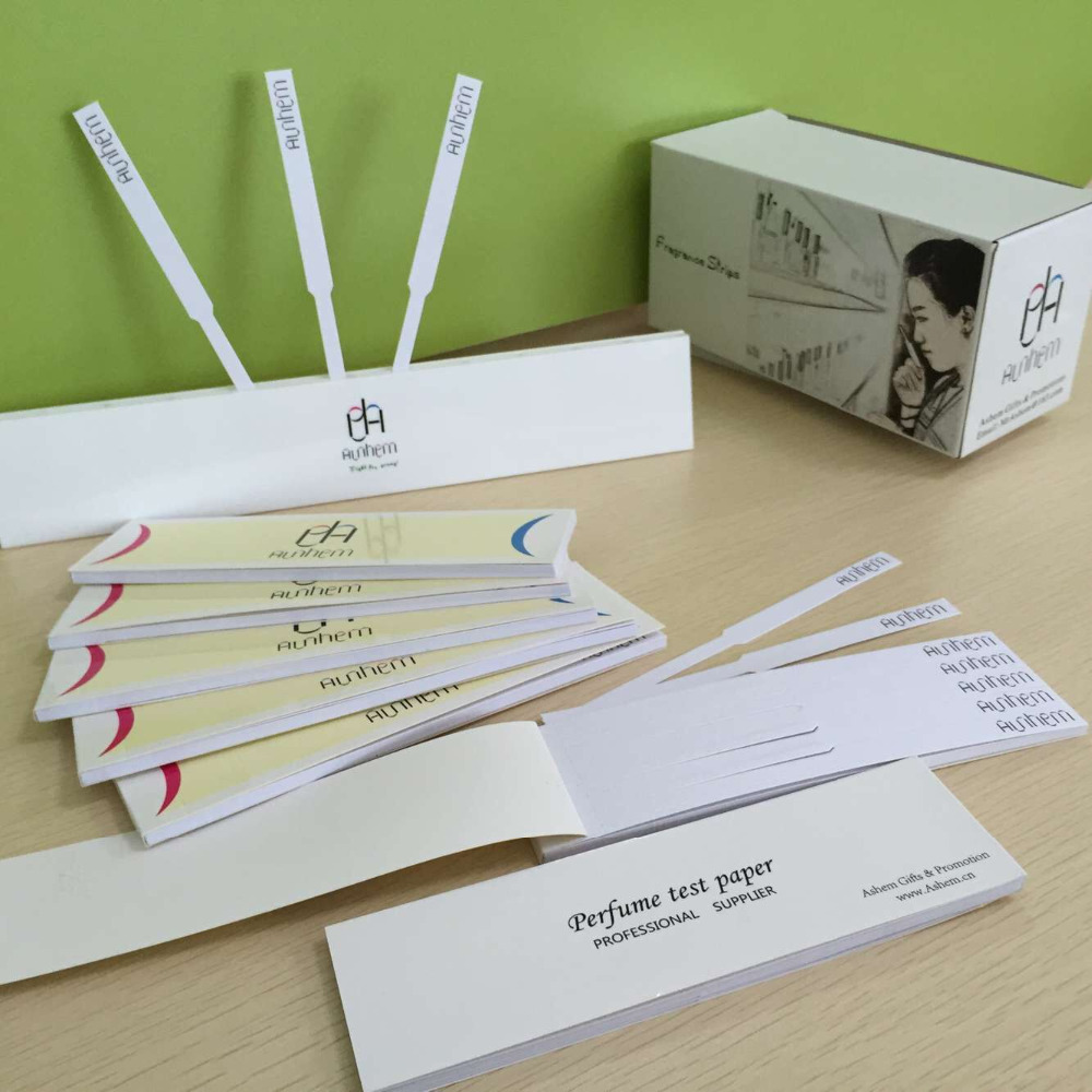 Perfume Tester Samples: Colored Fragrance Blotter Perfume Tester Paper Strips To Test Fragrances Mo-666