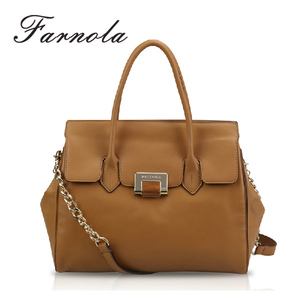 Top brand famous ladies office retro leather mature women handbags