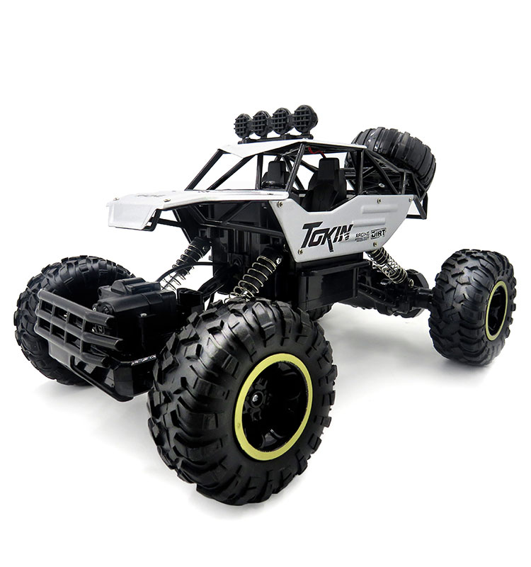 1. 6026E_Silver_2.4G_4WD_Off-Road_Buggy_Rc_Climbing_Car_Remote_Control_Alloy_Car