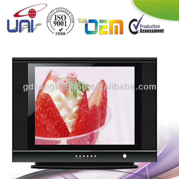 "CRT TV 17"" 21"" with AV/SECAM/SCART/A grade/B grade"