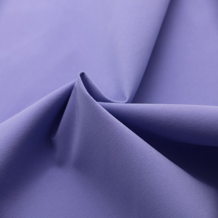 Nylon Polyester Blend Stretch Windbreaker/Trench Coat Fabric