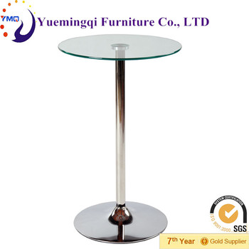 Antique design modern glass top one leg tableside table for living antique design modern glass top one leg tableside table for living roombar watchthetrailerfo
