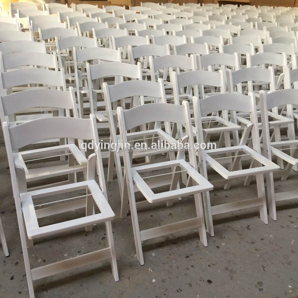 Awesome White Wedding Ceremony Chair With Padded Seat Folding Buy Wood Folding Chair With Padded Seat Used Wedding Folding Chairs Seat Cushions Folding Ibusinesslaw Wood Chair Design Ideas Ibusinesslaworg