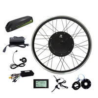 JB-205/35 electric bike 48v 1000w front wheel e-bike conversion hub motor kits with battery