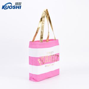 023ad518a617 Stripe Print Jute Bags