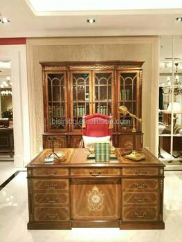 home office desk vintage design. Vintage Royal Style Castle Executive Office Desk And Bookcase Hand Carved  Wooden Home Furniture Home Office Desk Vintage Design T