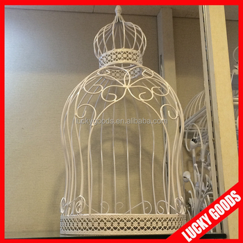 Elegant Decorative Big Bird Cage For Wedding Or Decoration