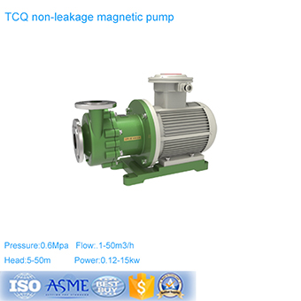 Trade Assurance TLF Fluorine Lined Pipeline Centrifugal Pump