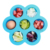 Baby Food Freezer Tray Storage Box with Silicone Clip-on Lid