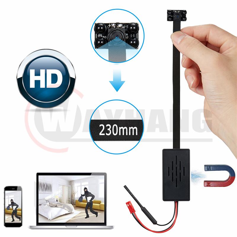 1080p infrared wifi Mini module Camera 4K Wireless ir IP Camera Video Security IR Night Vision