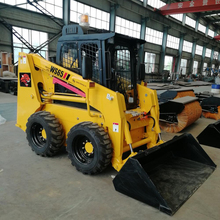 Nuovo forway ufficiale WS65 skid steer front-end piccola pala gommata